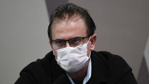 O representante oficial da Davati Medical Supply no Brasil, Cristiano Carvalho