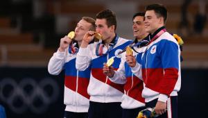 Time de ginástica do Comitê Olímpico russo