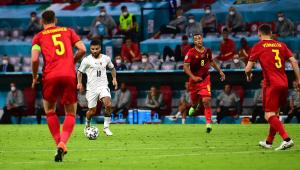Insigne marcou um golaço para a Itália contra a Bélgica