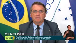 Presidente Jair Bolsonaro participa de Cúpula do Mercosul