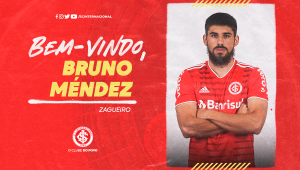 Bruno Méndez foi contratado por empréstimo pelo Internacional