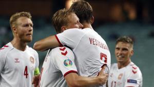 Dinamarca venceu a República Tcheca nas quartas da Eurocopa
