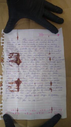Carta de Lázaro Barbosa