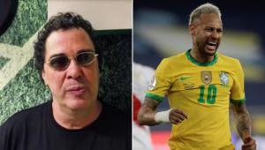 Casagrande criticou o 'patriotismo' de Neymar antes da final da Copa América