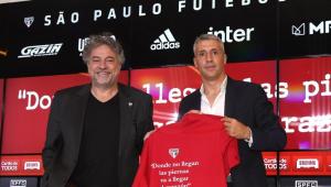 Casares deu respaldo ao técnico Crespo