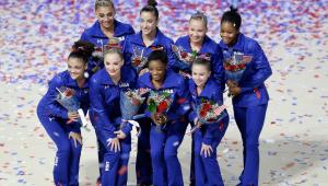 seleção feminina de ginástica dos EUA