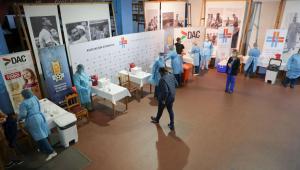 Pessoas internadas em hospital do Uruguai
