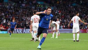 Chiesa marcou o gol no tempo normal