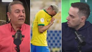 Flavio Prado e Marcio Spimpolo discutiram sobre a conduta de Neymar após vice na Copa América