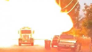 explosão de fogos de artifício