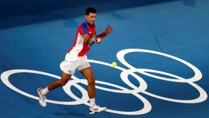 Djokovic está na semifinal do tênis individual masculino nos Jogos Olímpicos de Tóquio