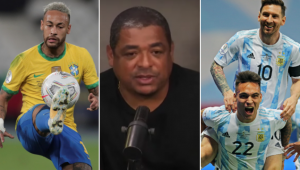 Vampeta deu palpite para a final da Copa América