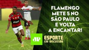 Flamengo faz 5 a 1 e ATROPELA o São Paulo! O Mengão DOMINANTE voltou? | ESPORTE EM DISCUSSÃO