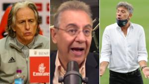 Flavio Prado reprovou uma possível troca no Flamengo de Ceni por Jorge Jesus ou Renato Gaúcho