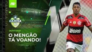 Flamengo HUMILHA o São Paulo e EMBALA com Renato Gaúcho! | CAMISA 10 - 26/07/21