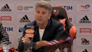 Renato Gaúcho foi apresentado como novo treinador do Flamengo