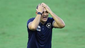 Marcelo Chamusca foi demitido pela diretoria do Botafogo