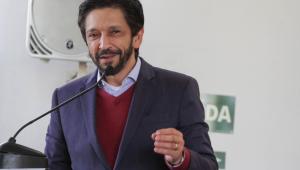 O prefeito de São Paulo, Ricardo Nunes