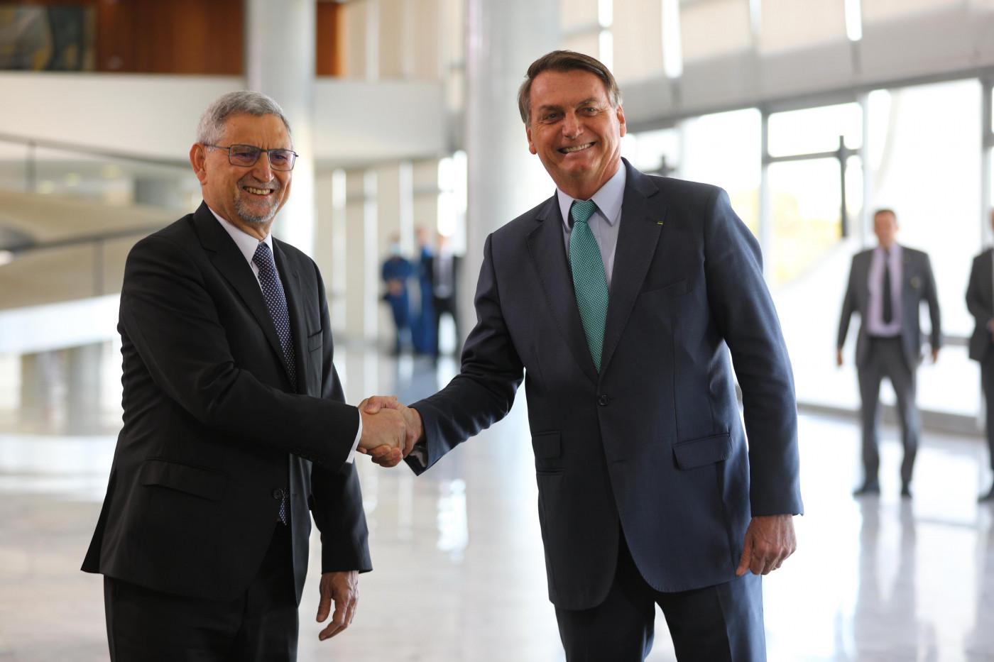 O presidente Jair Bolsonaro, recebe nesta sexta-feira (30), o presidente da República de Cabo Verde, Jorge Carlos de Almeida Fonseca