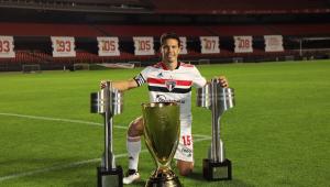 Hernanes venceu duas vezes o Brasileiro e um Paulistão com a camisa do São Paulo