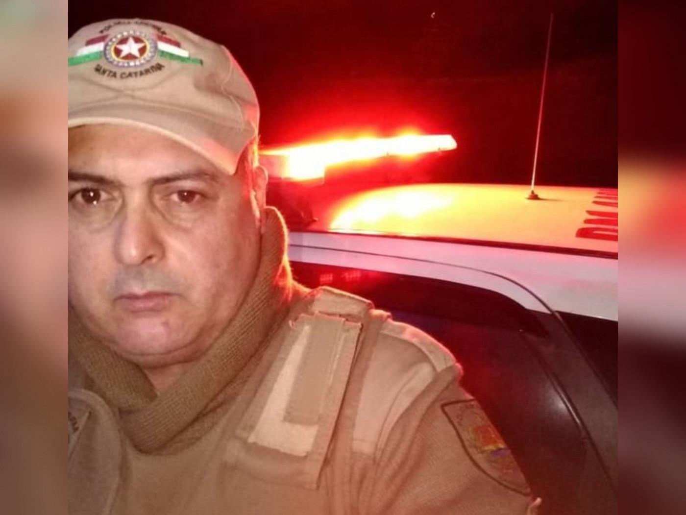 policial militar vitima de acidente santa catarina