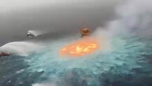 Incêndio no Golfo do México