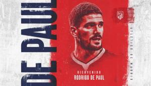 Rodrigo de Paul é anunciado no Atlético de Madrid