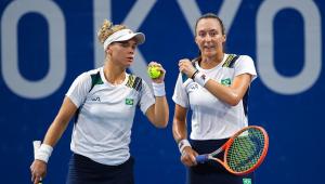 Laura Pigossi e Luisa Stefani avançaram às semifinais no tênis