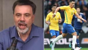 Mauro Beting exaltou a qualidade de Giuliano, novo reforço do Corinthians
