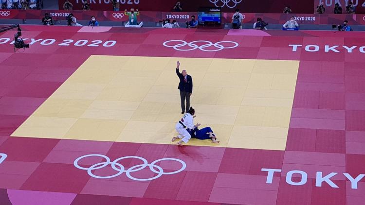 Mayra Aguiar ficou com o bronze no judô nas Olimpíadas de Tóquio