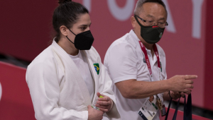 Mayra Aguiar está na disputa do bronze nas Olimpíadas de Tóquio
