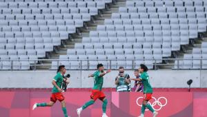 O México goleou a França nos Jogos Olímpicos de Tóquio