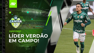 Palmeiras tem JOGO DURO para manter a LIDERANÇA do Brasileirão! | CAMISA 10 - 23/07/21