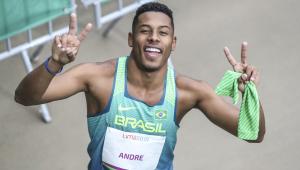 Paulo André é semifinalista dos 100 metros rasos das Olimpíadas de Tóquio