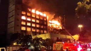incêndio no prédio da secretaria de segurança pública do rio grande do sul