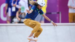 Rayssa Leal fez a final do skate street na Olimpíada de Tóquio