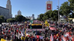 Protestos contra Bolsonaro no Rio