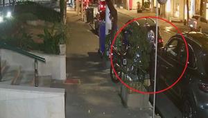 Câmera de segurança flagra furto