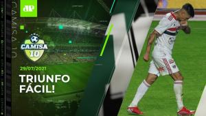 São Paulo BATE Vasco e DÁ PASSO rumo às QUARTAS da Copa do Brasil! | CAMISA 10 - 29/07/21