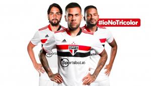 Sportsbet.io é o novo patrocinador máster do São Paulo