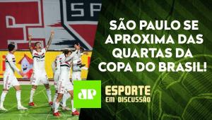 São Paulo SE RECUPERA de goleada para o Flamengo e VENCE pela Copa do Brasil! | ESPORTE EM DISCUSSÃO