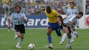 Seleção brasileira venceu a Argentina por 3 a 0 na final da Copa América de 2007