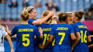 Seleção sueca passou em primeiro no Grupo G dos Jogos Olímpicos de Tóquio