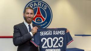 Sergio Ramos fechou com o PSG até 2023