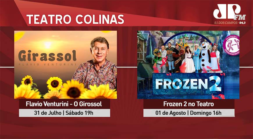 O Teatro Colinas voltou, confira a programação.