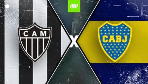 Atlético-MG x Boca