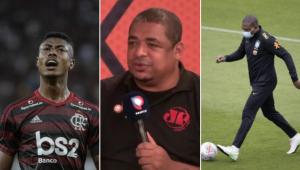 Vampeta revelou conversa com César Sampaio sobre o desempenho de Bruno Henrique na seleção brasileira