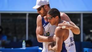 alison e álvaro; vôlei de praia masculino