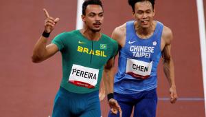 Rafael Pereira está na semifinal dos 110 metros com barreiras