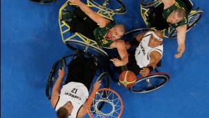basquete de cadeira de rodas